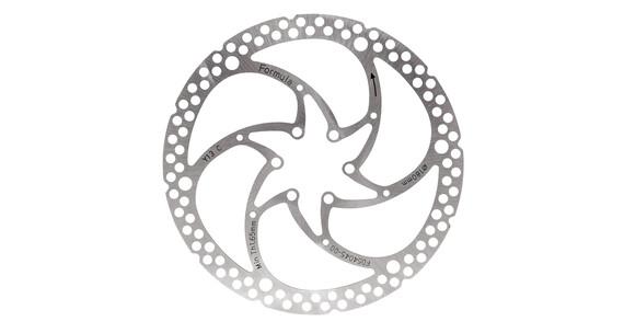 Formula C1 remschijf 1-delig zilver